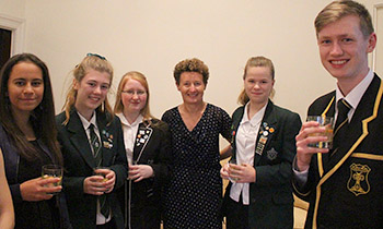 Marsden students enjoy gastronomic meal with French Ambassador