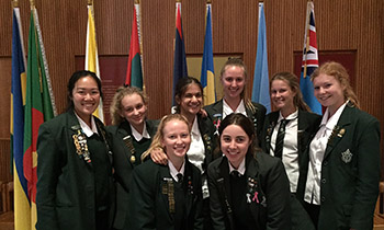 Marsden students attend Commonwealth Day Observance Service