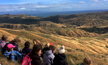 Marsden Y10 Tramp up Mt Kaukau and Skyline