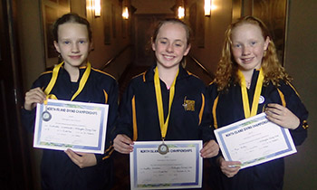 Marsden students win diving medals at NI Champs