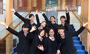 Students from Toin Gakuen School Japan on exchange at Marsden School Wellington