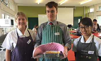 Marsden welcomes Scots College students to Food Tech classes
