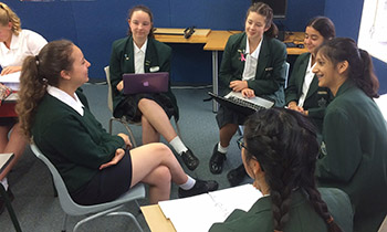 Exchange student helps Marsden NCEA French students