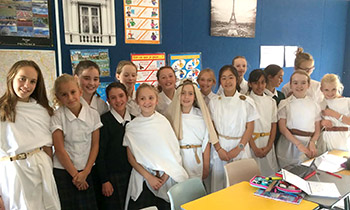 Marsden Year 7 students recreate biblical times