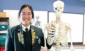 Marsden Deputy Head Girl selected for Malaysian Science Camp