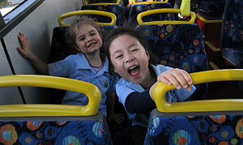 Marsden Preschool students take bus trip to Te Papa to see Whale Rider play